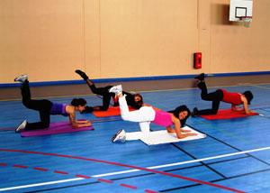 Exercice body fessiers